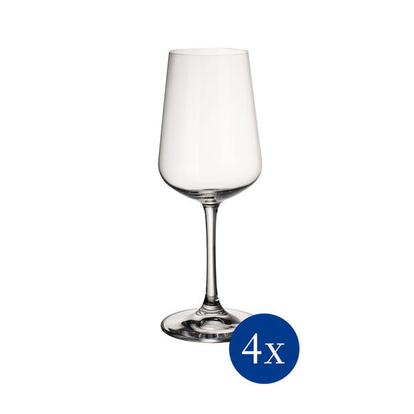 Ovid - White wine goblet Set4pcs