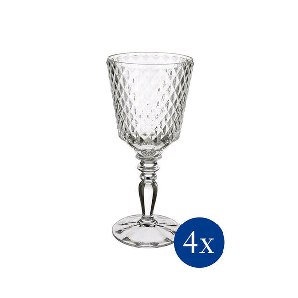 Boston Flare - Red wine goblet Set 4