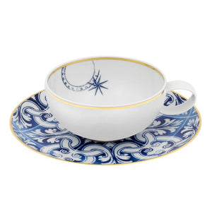 Transatlantic - tea cup with saucer