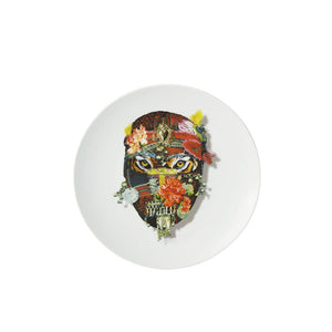 Love who you are - mister tiger dessert plate