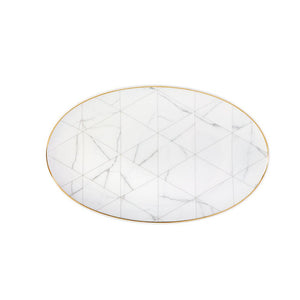 Carrara - large oval platter