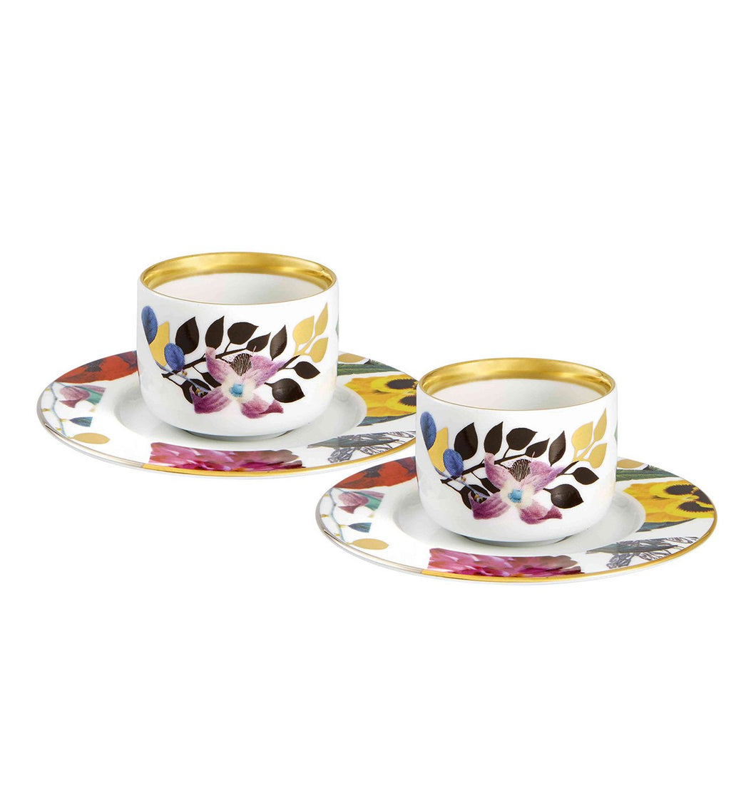 Primavera - Set 2 Coffee Cups & Saucers