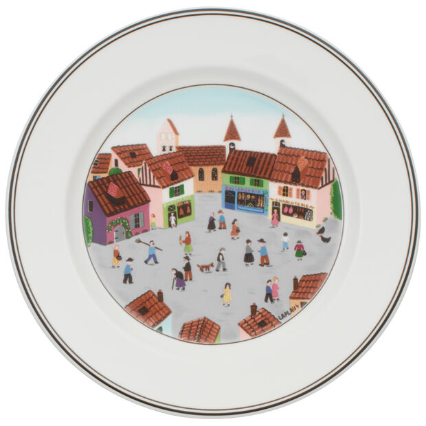Design Naif - Salad Plate Village