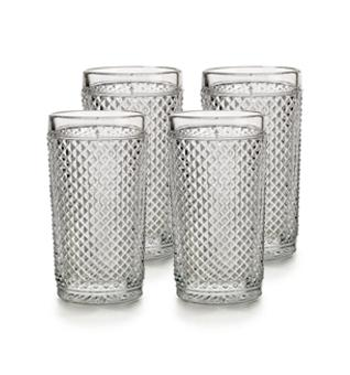 Bicos - Set Of 4 Highball Clear