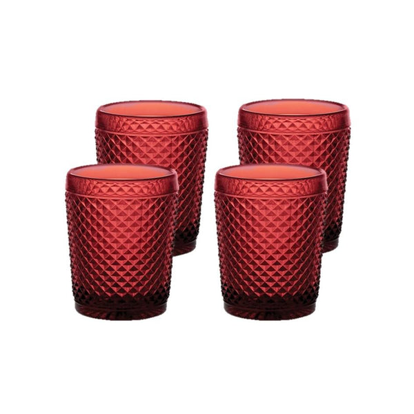 Bicos - Set Of 4 Old Fashion Red