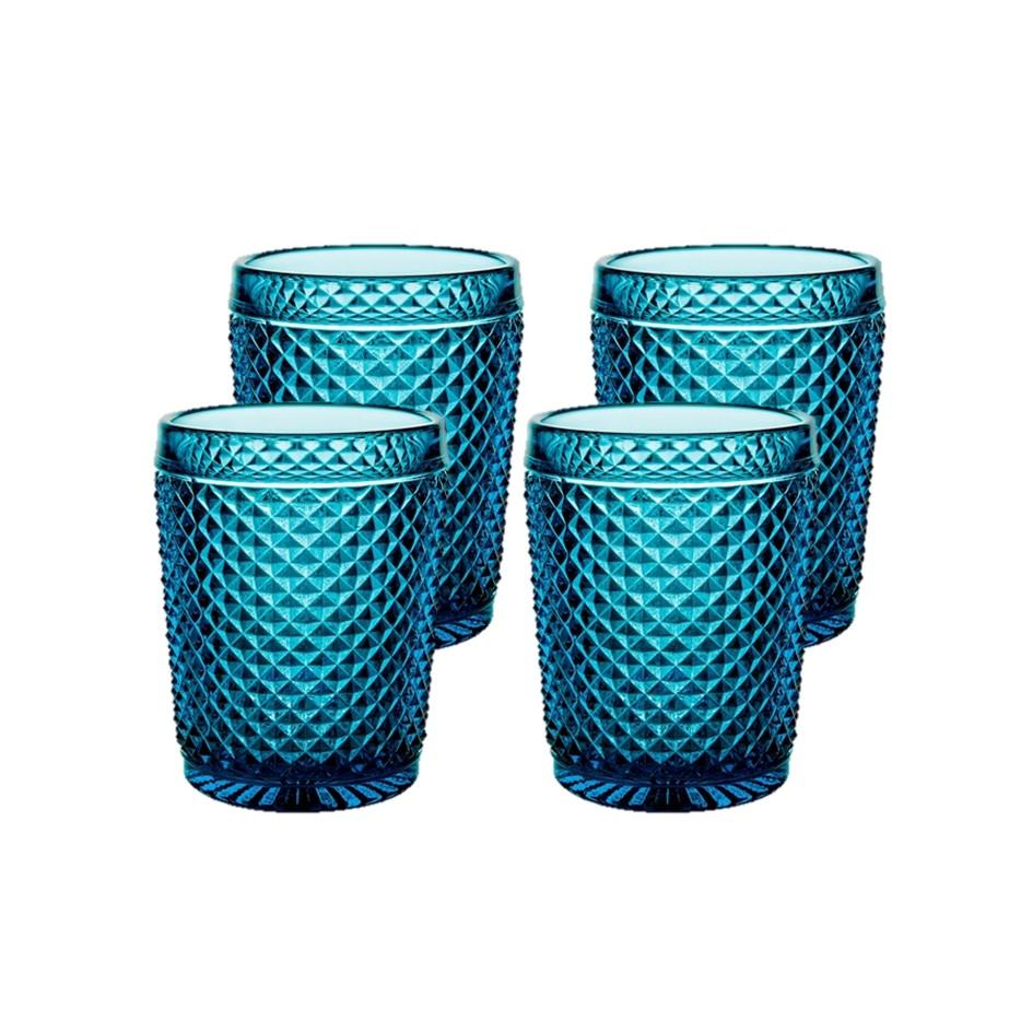 Bicos - Set Of 4 Old Fashion Blue
