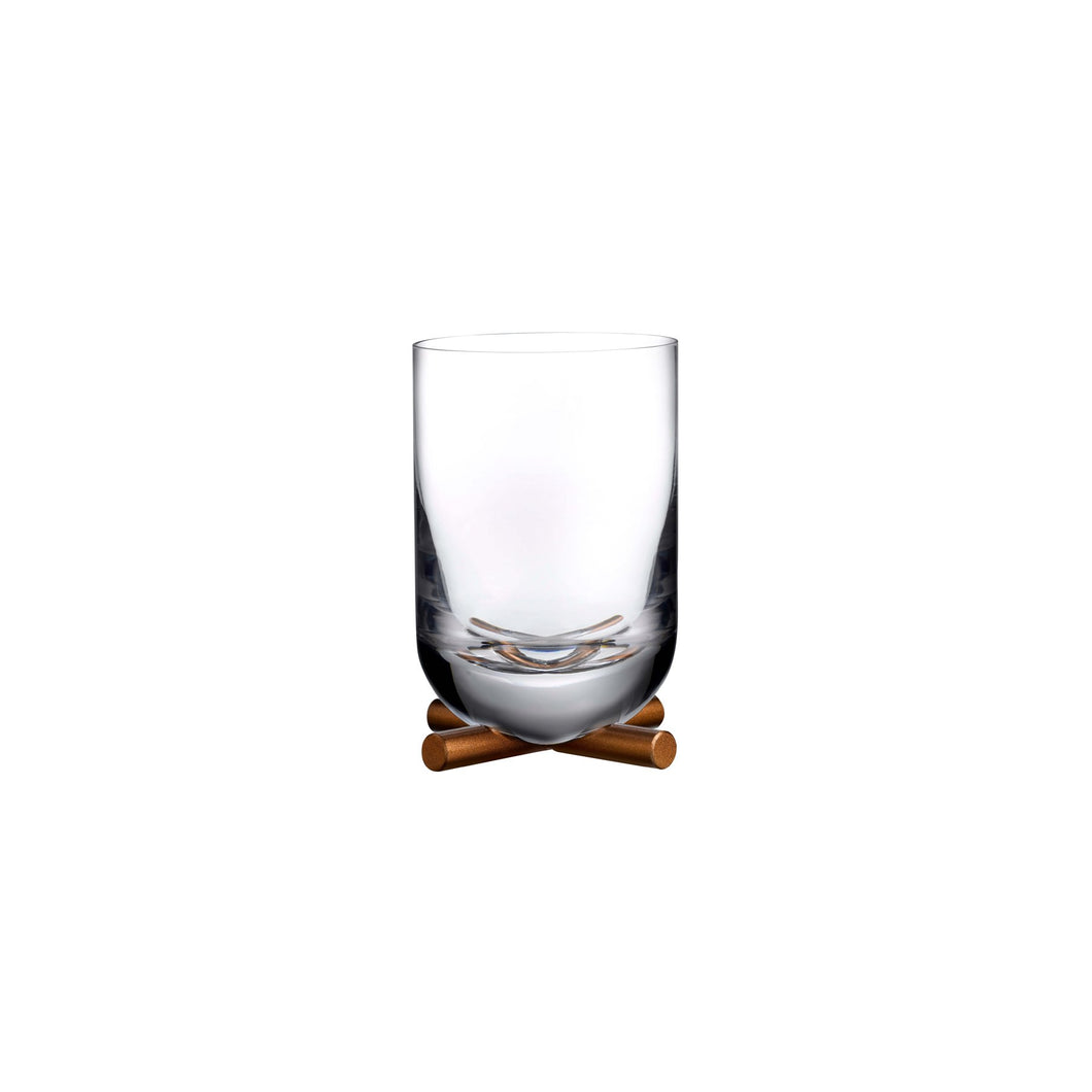 Nude Camp Whisky DOF Glass With Brass Base