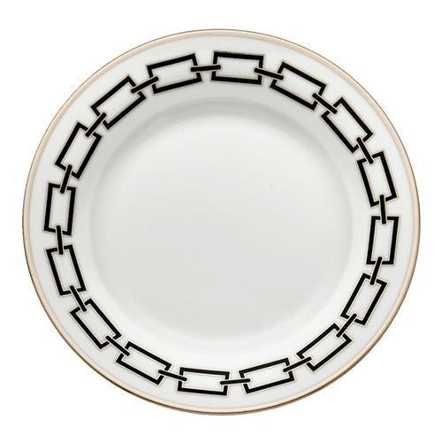 Catene Black - Flat dinner plate