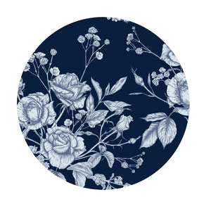 Blue with Dark Flowers Inserts