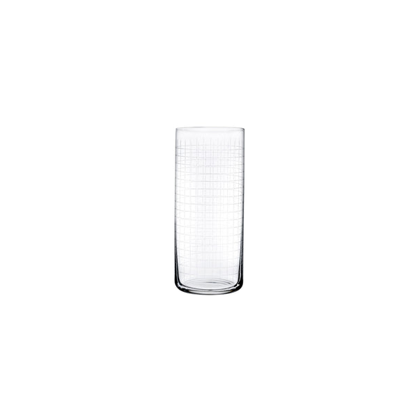 Finesse Grid Set of 4 High Ball Glasses