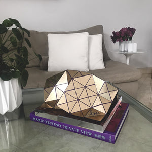 Folding in love - Gold over purple
