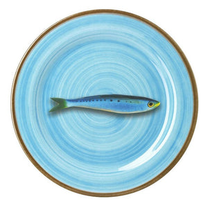 Aimone Dinner Plate - Turquoise