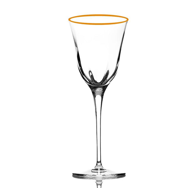 Water Goblet Optic Gold - (Set of 6)