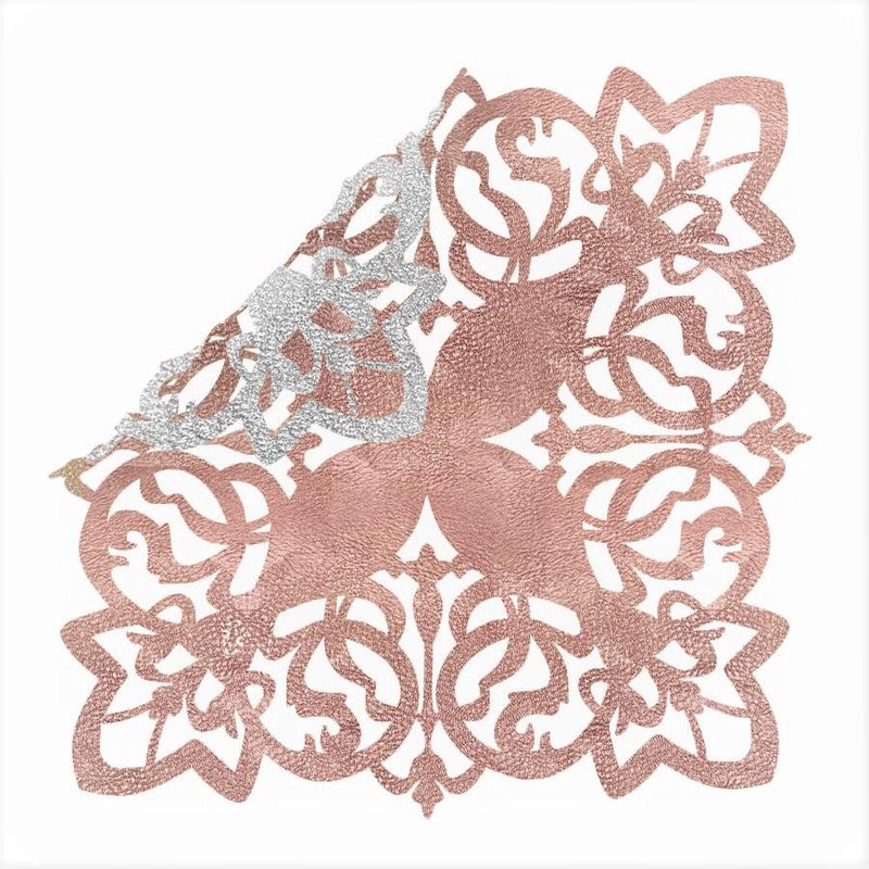 Placemat Butterfly - Rose Gold/ Silver