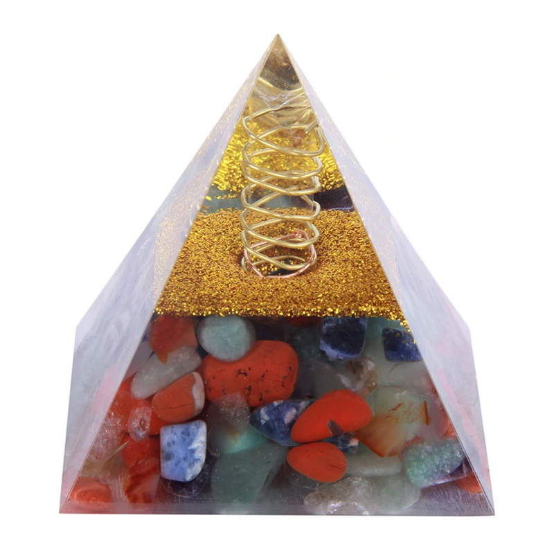 ORGONE EMF protection pyramid