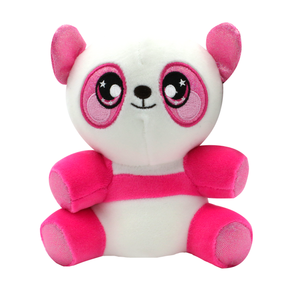 Squeezamals 3Deez Core-Pink Panda - 24 Units Per Case