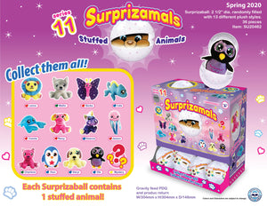 Surprizamals Cuties-Series 11 - 36 Units Per Case