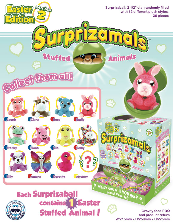 Surprizamals Easter-Series 2 - 24 Units Per Case