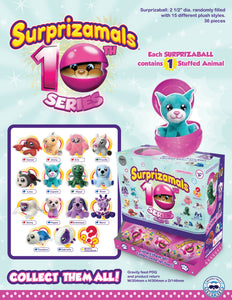 Surprizamals Cuties - Series 10 - 36 Units Per Case