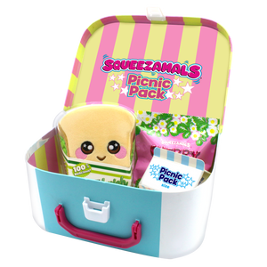 Squeezamals-4pc Lunch Box - 6 Units Per Case