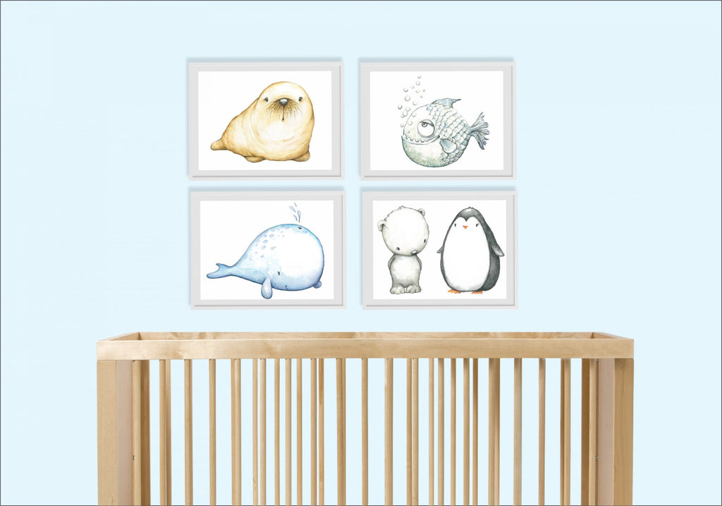 Artic Animals Set - Lilly and Bee