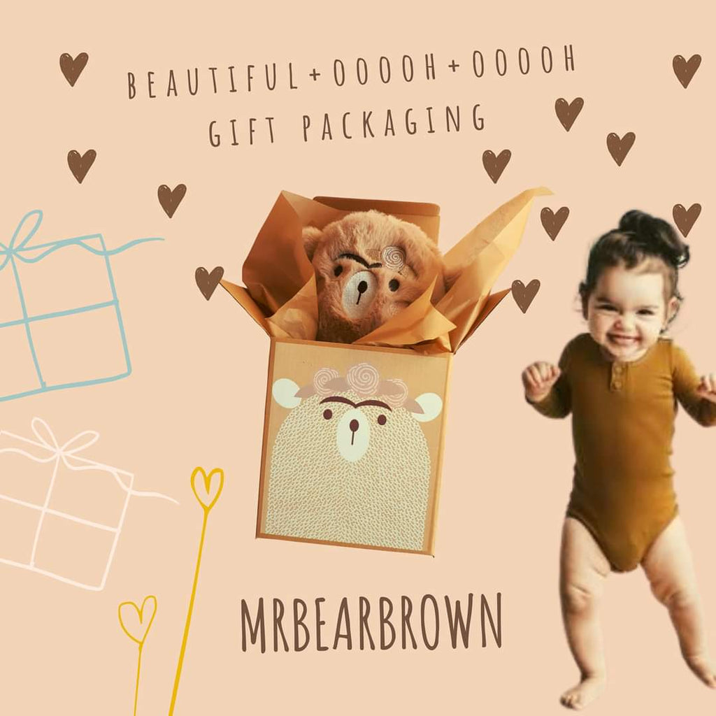 Mr Bearbrown + Gift Box - Lilly and Bee