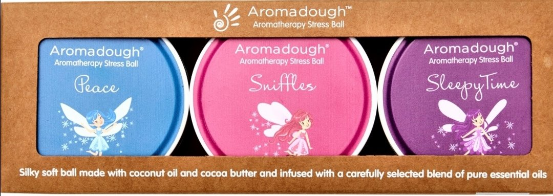 Aromadough Stress Ball Fairies - Lilly and Bee