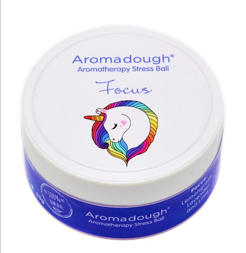 Aromadough Stress Ball - Unicorn - Lilly and Bee