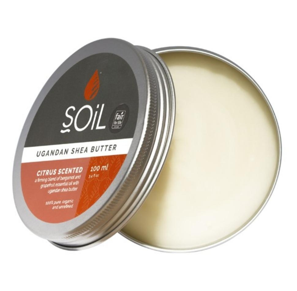ORGANIC CITRUS SCENTED SHEA BUTTER - Lilly and Bee