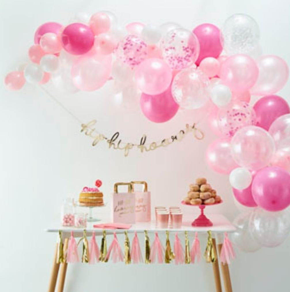 Balloon Arches - Pink Balloon Arch Kit - Lilly and Bee