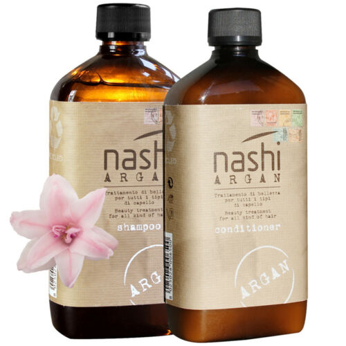 NASHI Argan Set Shampoo + Conditioner 500 ml
