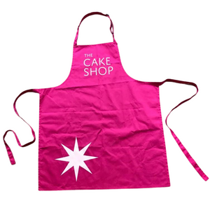 The Cake Shop Pink Apron