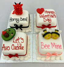 Load image into Gallery viewer, Send your love mini cake - Horny Devil (COLLECTION ONLY)