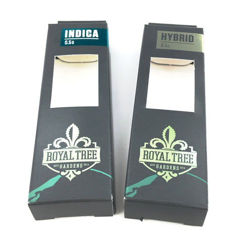 Cannabis Custom Packaging Royal Tree