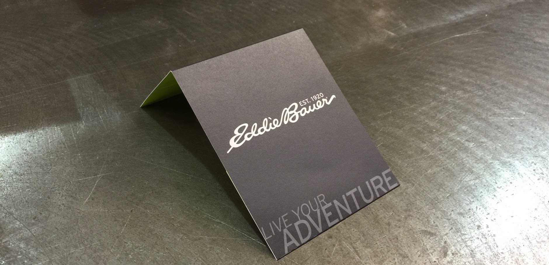 Eddie Bauer Gift Card Holder - Front