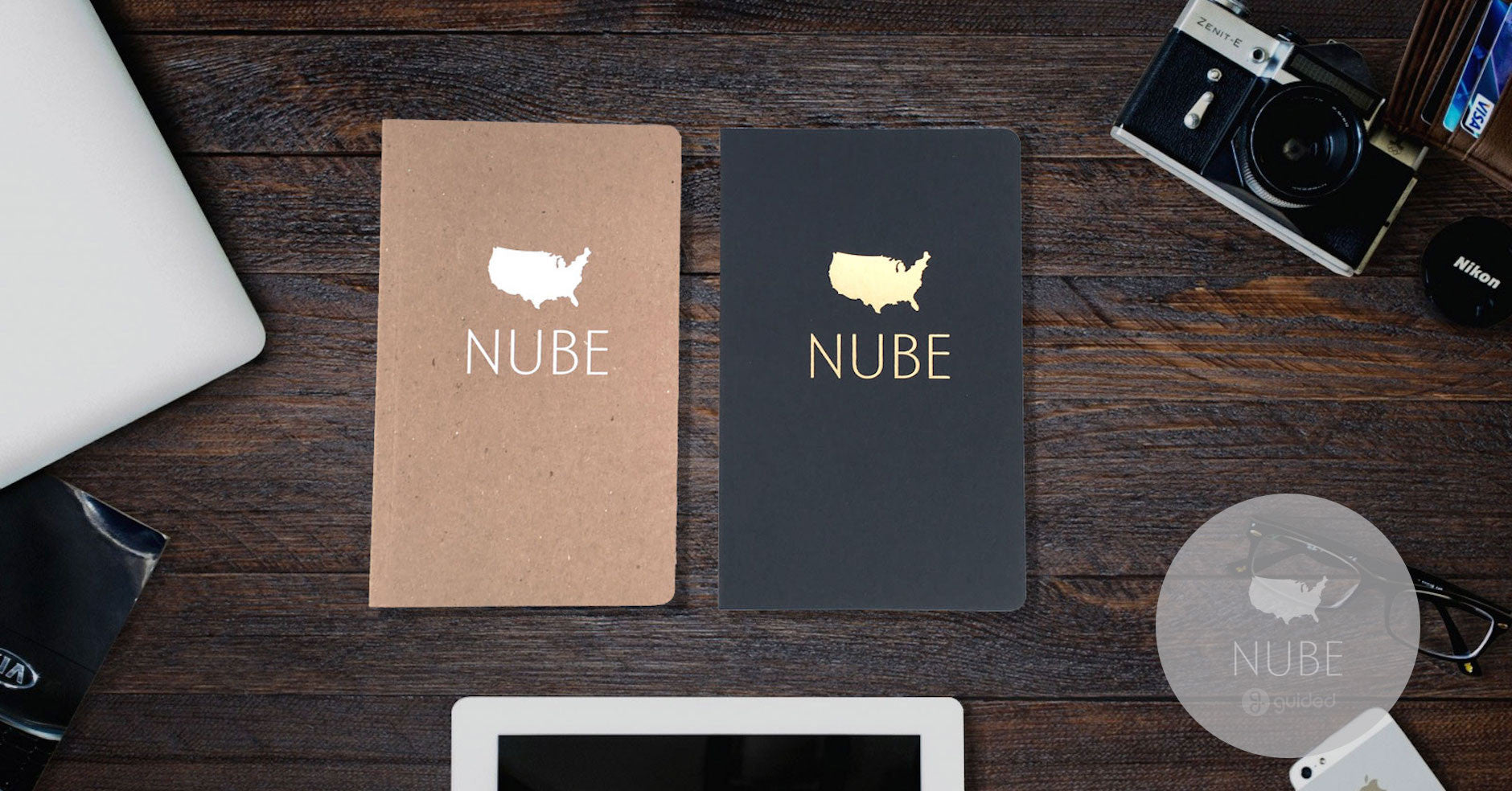 Foil Stamped Notebooks Nube9