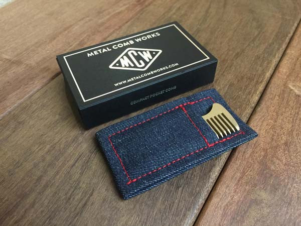 Metal Comb Works Custom Packaging