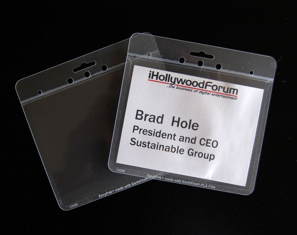 name badge holder eco