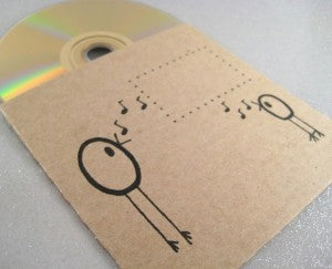 custom printed cd sleeve