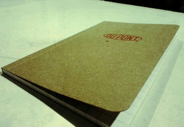 dupont custom printed notebooks
