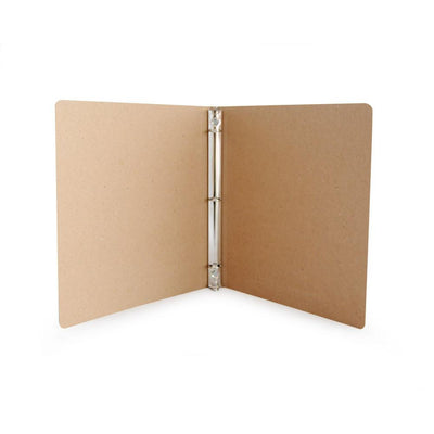 "1/2"" Recycled Binders - ReBinder Select - 35pt Recycled Chipboard"