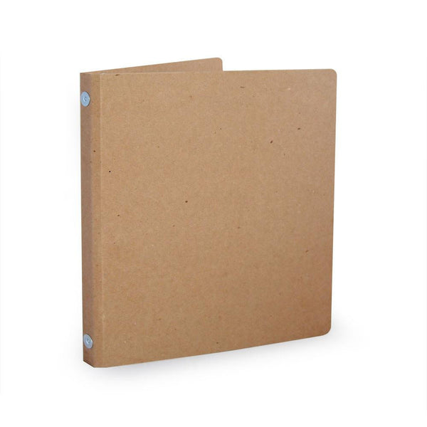 "1/2"" Recycled Binders - ReBinder Select - Natural Brown Kraft"