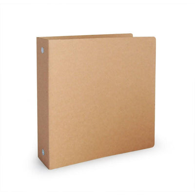 "1.5"" ReBinder Original Recycled Binders - Rigid Recycled Corrugated Cardboard"