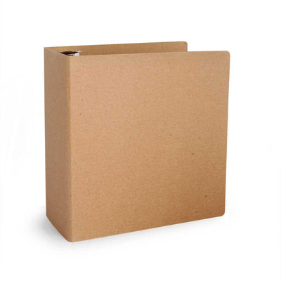 "1.5"" ReBinder Select Recycled Binders - Natural Brown Kraft"