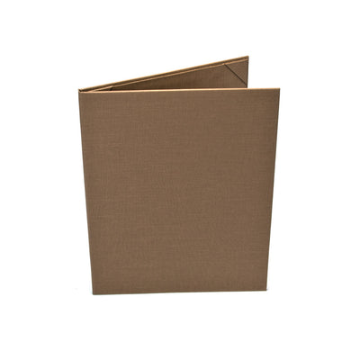One Pocket Menu Cover - Contemporary Tan Cover