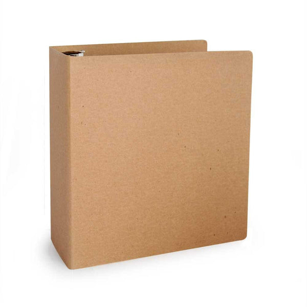 "1"" ReBinder Select Recycled Binders - Brown Kraft"