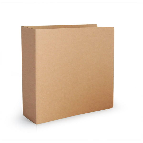 "3"" ReBinder Original Recycled Binders - Recycled Corrugated Cardboard"