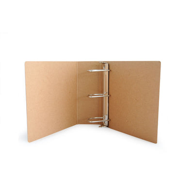 "Custom Printed 3"" ReBinder Select Recycled Binders - Guided  - 3"