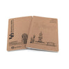 "Custom Printed Notebooks - 5"" x 8"" ReWrite - Guided  - 6"