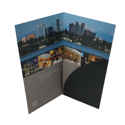 Bellevue Collection Single Pocket Folder